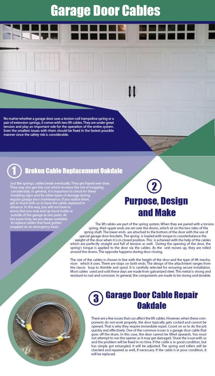 Garage Door Repair Oakdale Infographic